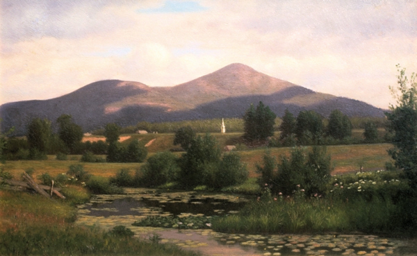 Mount Kearsarge from North Conway by Alfred T. Ordway