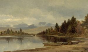Mount Passaconaway and Mount Paugus from Chcorua Lake by Benjamin Champney