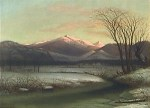 Mount Washington in Winter from the Intervale by Benjamin Champney
