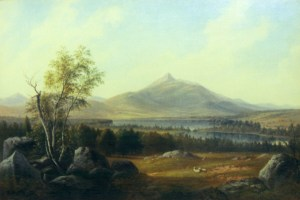 Mount Chocorua and Chocorua Lake from Tamworth by Benjamin Champney