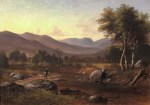 Carter Notch and Wildcat Brook from Jackson by Benjamin Champney