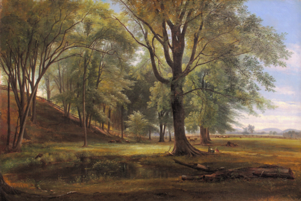 Summer Picnic on the North Conway Meadows by Benjamin Champney