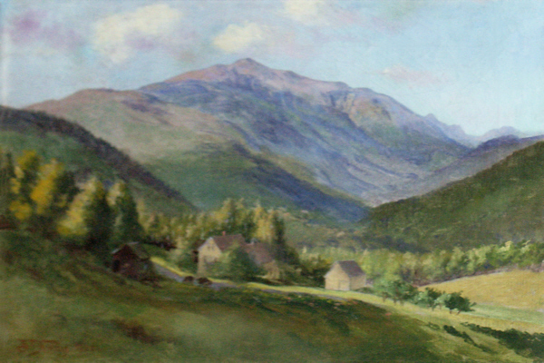 Mount Washington from Iron Mountain, Jackson by Benjamin Tupper Newman