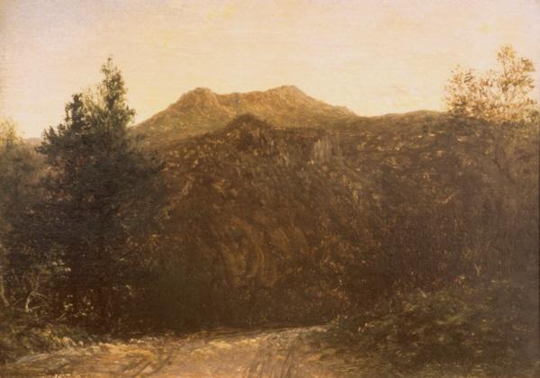 Franconia Notch by David Johnson