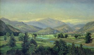 Mount Washington from the Saco River by Edmund Darch Lewis