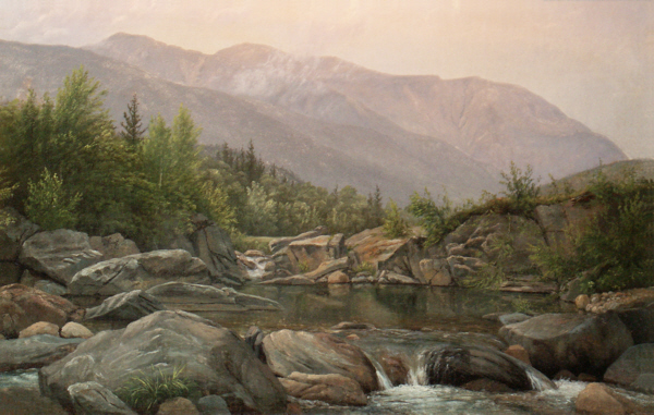 Mount Washington and Huntington Ravine from Pinkham Notch by Edward W. Nichols