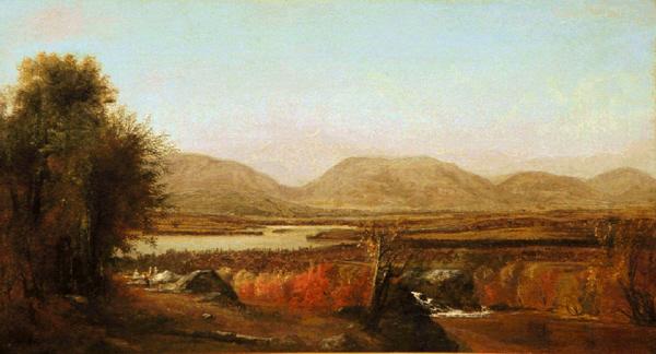 Autumn Landscape by Harrison Bird Brown