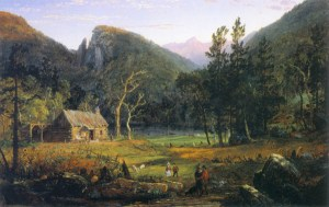 Eagle Cliff by Jasper Francis Cropsey