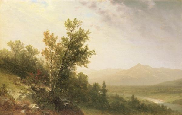 Passing Storm, Mount Chocorua from Tamworth by John W. Casilear