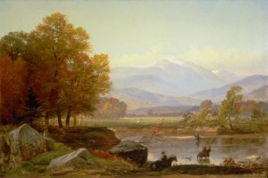 Mount Washington from the Saco River by Samuel Lancaster Gerry