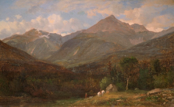 Mount Jefferson and Mount Adams from the Glen by Samuel Lancaster Gerry