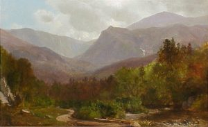 Tuckerman's Ravine and Lion's Head by Samuel Lancaster Gerry