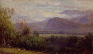 Moat Mountain and White Horse Ledge, North Conway by Samuel Lancaster Gerry