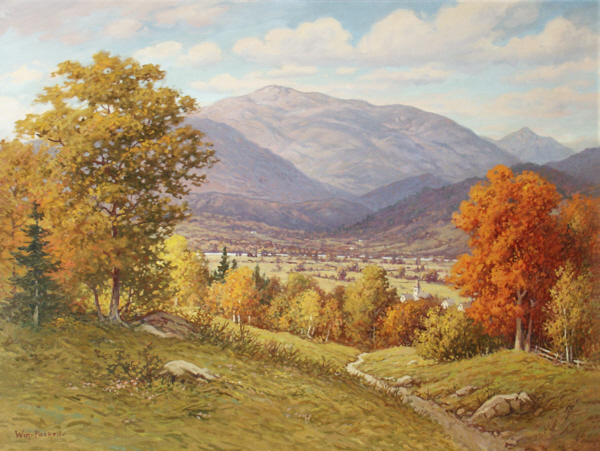 Mount Washington from Sunset Hill, North Conway by William F. Paskell