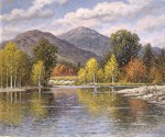 Mount Kearsarge in Fall by Willaim F. Paskell