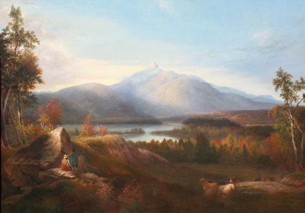 Mount Chocorua by Alvan Fisher