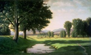 Carter Notch from the Intervale, North Conway by Alfred T. Ordway