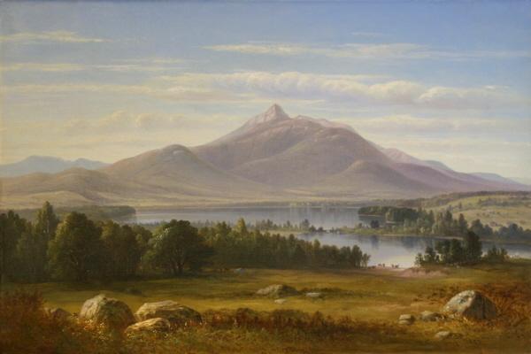 Mount Chocorua and Chocorua Lake by Benjam Champney