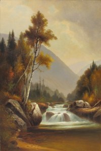 Ellis River in Pinkham Notch by Benjamin Champney