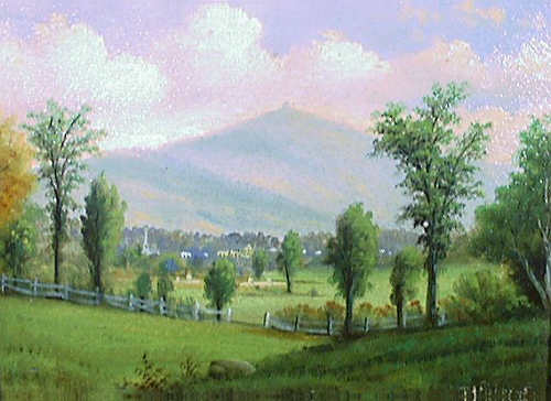 Mount Kearsarge, North Conway by D. A. Fisher