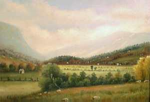 Franconia Notch by D. A. Fisher