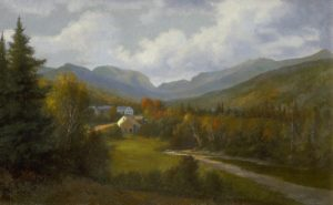 Franconia Notch from Woodstock by Edward Hill