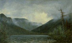 Storm Clouds over Echo Lake by Edward Hill