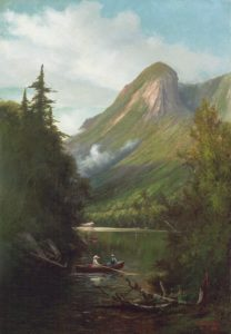 Eagle Cliff from Profile Lake by Edward Hill