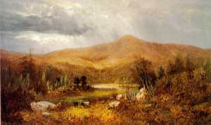 Androscoggin River Valley by Frederick A. Butman