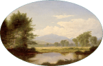 Mount Washington attributed to Francis Seth Frost