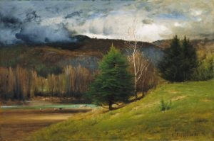 Humphrey's Ledge and the Saco River from the Intervale by George Inness