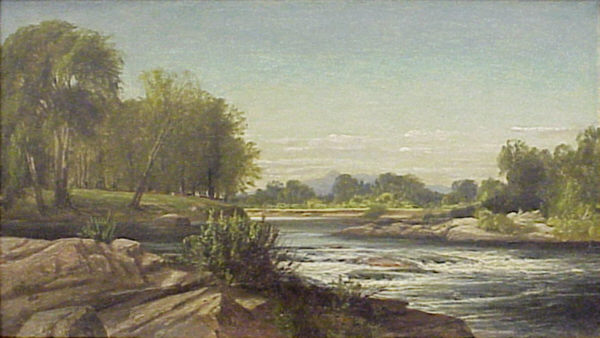Mount Chocorua from the Saco River from Conway by Harrison Bird Brown