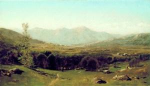 Presidential Range from Lancaster by John Bunyan Bristol