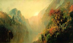Echo Lake by Jasper Francis Cropsey