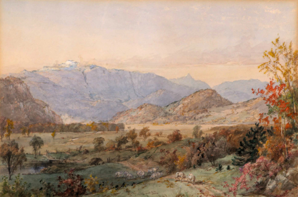 Early Snow on Mount Washington by Jasper Francis Cropsey