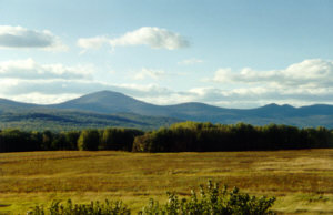 Mount Kearsarge from Fryeburg, ME