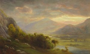 Mount Madison from Shelburne by Sylvester Phelps Hodgdon