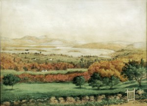 Lake Wentworth from Cotton Valley by Sylvester Phelps Hodgdon