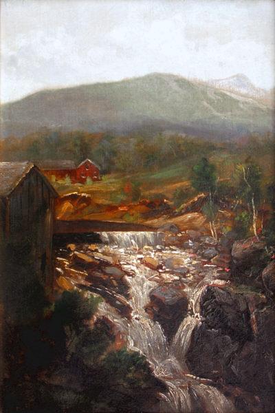 Goodrich Falls by Thaddeus Defrees