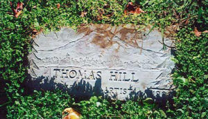 Gravestone of Thomas Hill