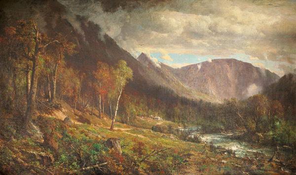 Crawford Notch by Thomas Hill