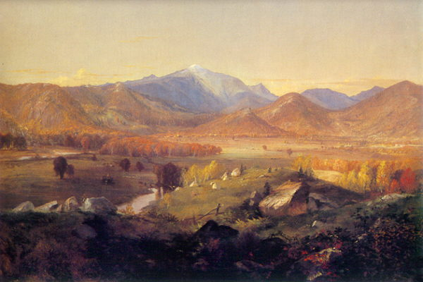 Mount Washington from Sunset Hill, North Conway by Thomas Hiram Hotchkiss