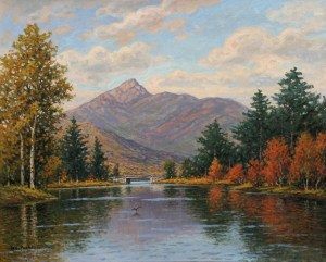 Mount Chocorua from Little Chocorua Lake, Tamworth by William F. Paskell