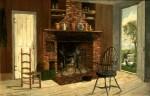 Old Kitchen, Duxbury, Massachusetts by Frank Henry Shapleigh