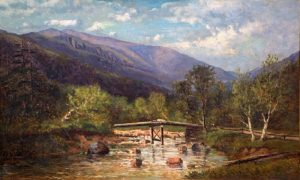 Mount Washington from the Ellis River by Frank Henry Shapleigh