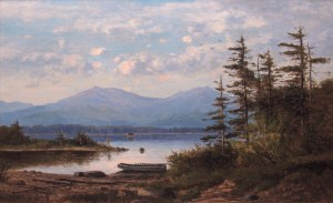 Moat Mountain from Walker's Pond, Eaton by Frank Henry Shapleigh