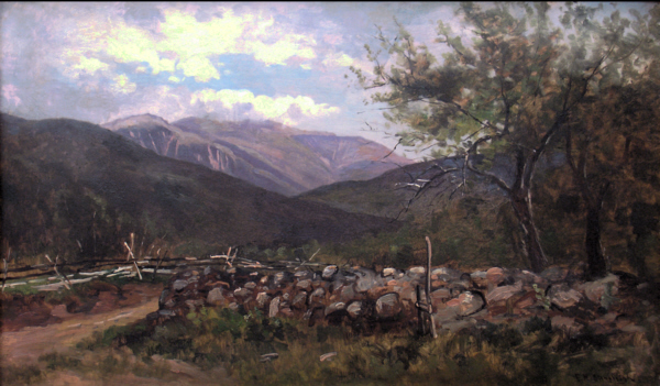 Mount Washington from Jackson by Frank Henry Shapleigh