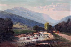 Mount Washington from the Glen Road by Frank Henry Shapleigh