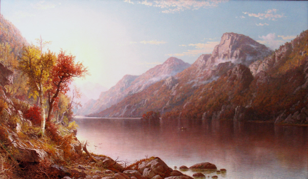 Profile Lake, Franconia Notch by George Wellington Waters