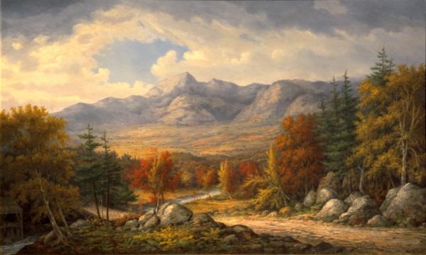Mount Chocorua by John White Allen Scott